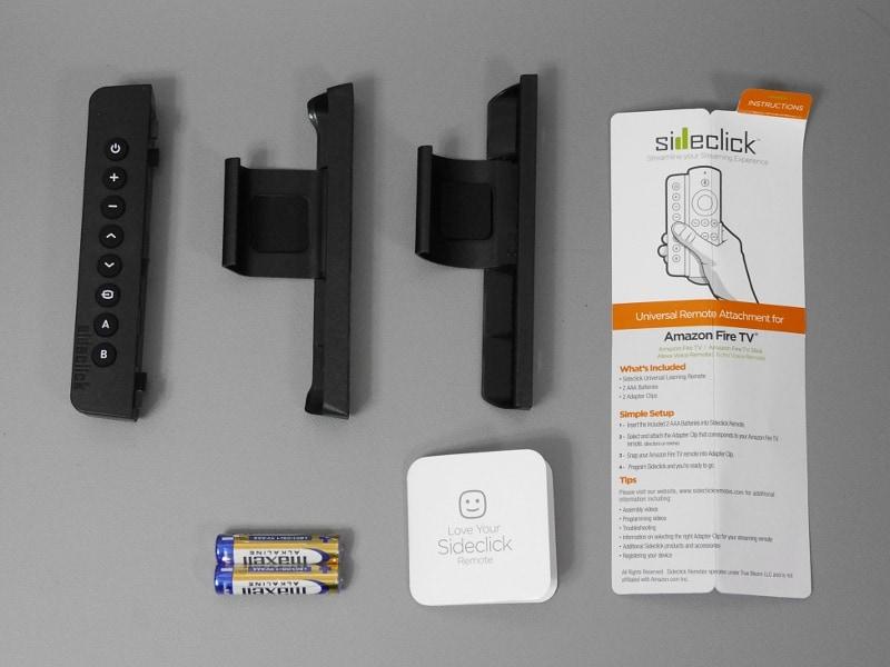 同梱品一覧。本体、アダプタ2種類のほか、セットアップガイド、電池が付属する