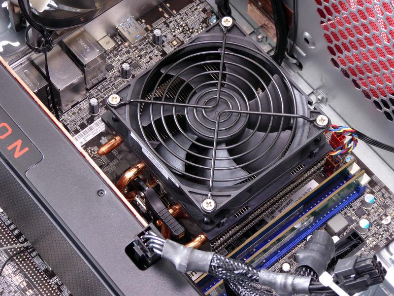 CPUクーラーはほぼリテールクーラーと同じ