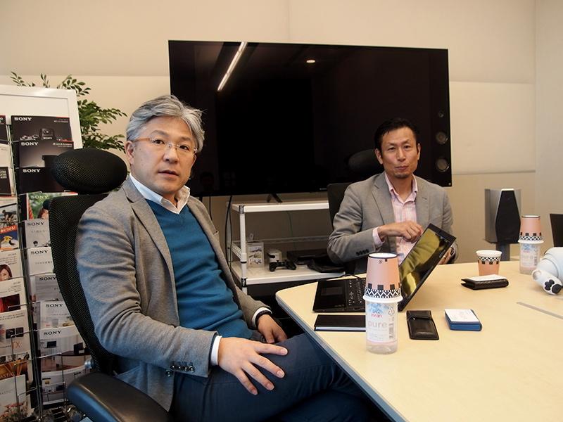 矢部雄平氏(左)と松井直哉氏(右)