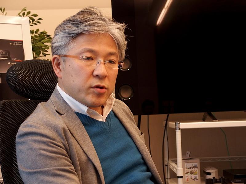 ソニー株式会社 事業開発プラットフォーム AIロボティクスビジネスグループ 事業企画管理部 統括部長 矢部雄平氏