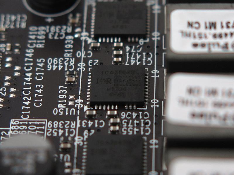 CPU用のDriver MOSFETはInfineonの「TDA21470」