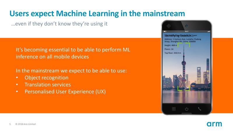 次のステップはメインストリームモバイルへの機械学習の浸透