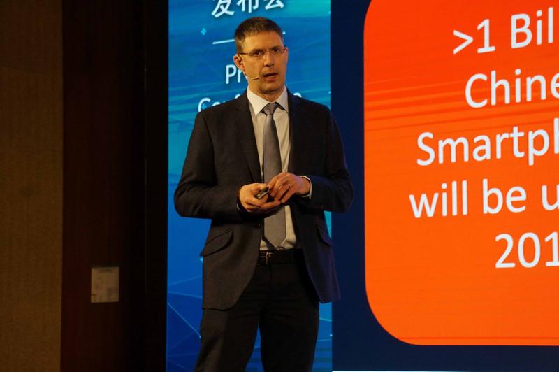 新Maliを発表するIan Smythe氏(Senior Director, Client Line of Business, Arm)