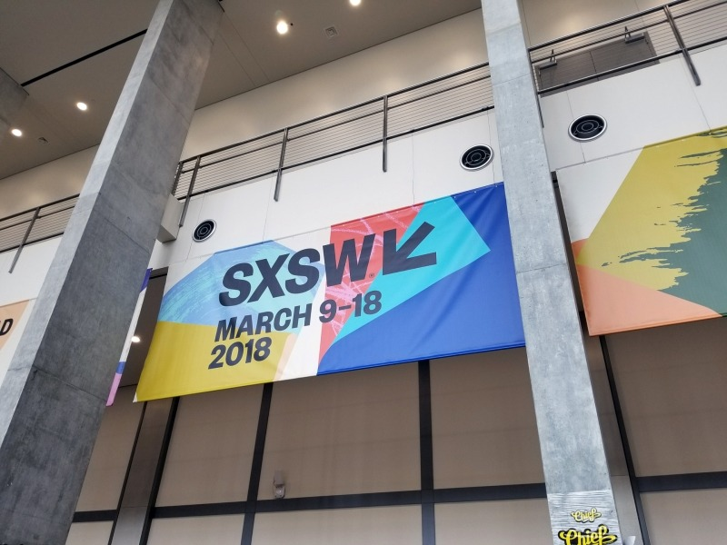 SXSWの会場となるオースティンコンベンションセンター