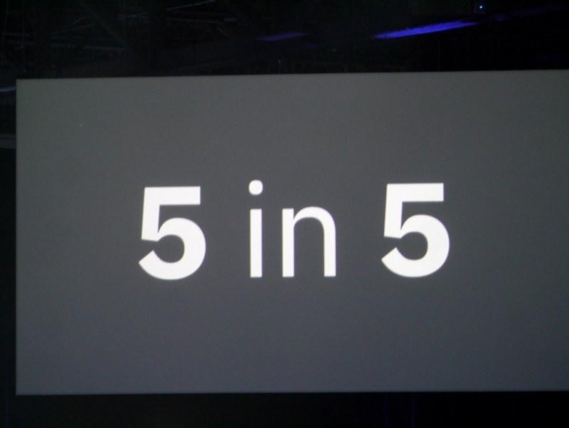 IBMが毎年発表している5 in 5