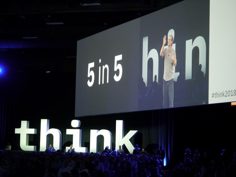 米ラスベガスで開催されているThink 2018で発表された