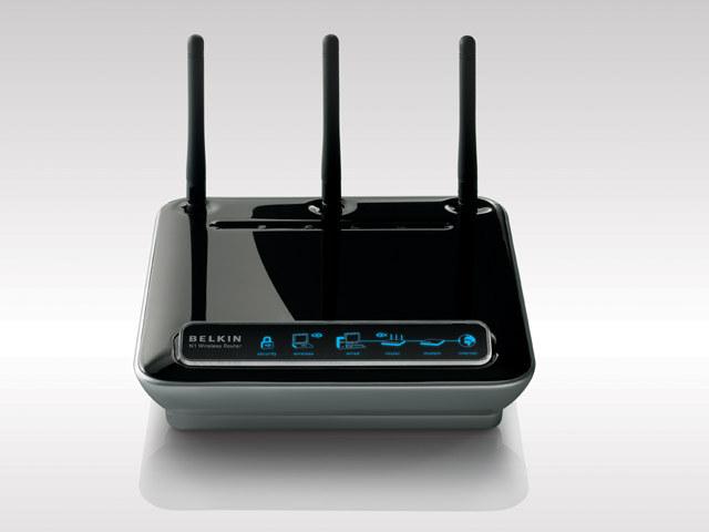 Belkinが2006年に国内投入したIEEE 802.11nドラフト対応無線LANルーター「N1 Wireless Router F5D8231-4」