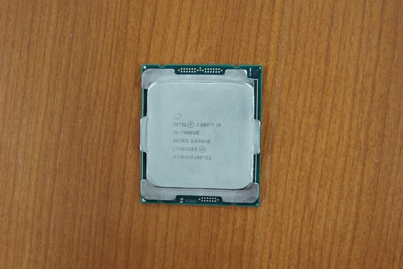 CPUにCore i9-7980XE