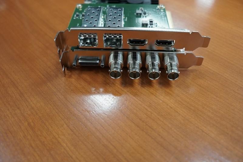 放送用のSDI端子だけでなく、HDMI端子の入出力があるのがポイント