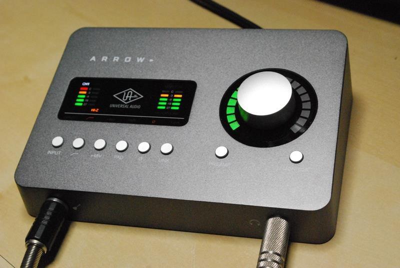 Thunderbolt 3接続のUniversal Audio「Arrow」