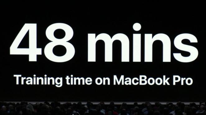 MacBook Proで学習時間を大幅に短縮