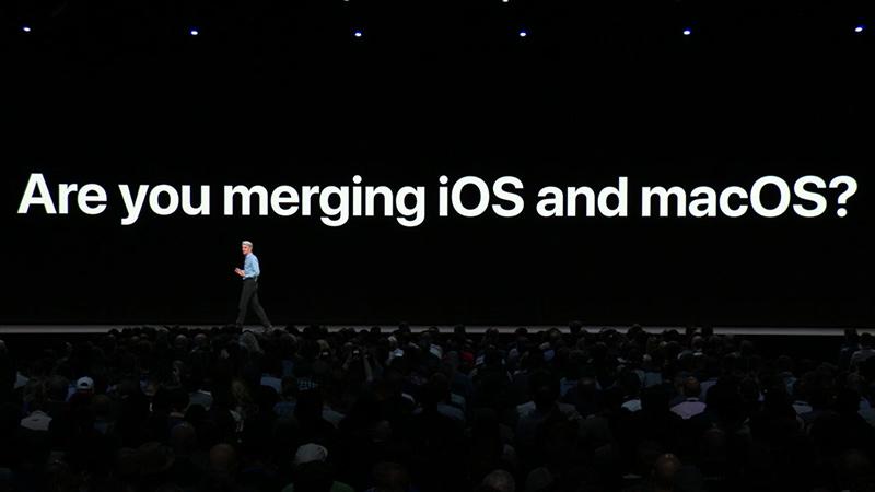 iOSとmacOSをp統合する気なのか?