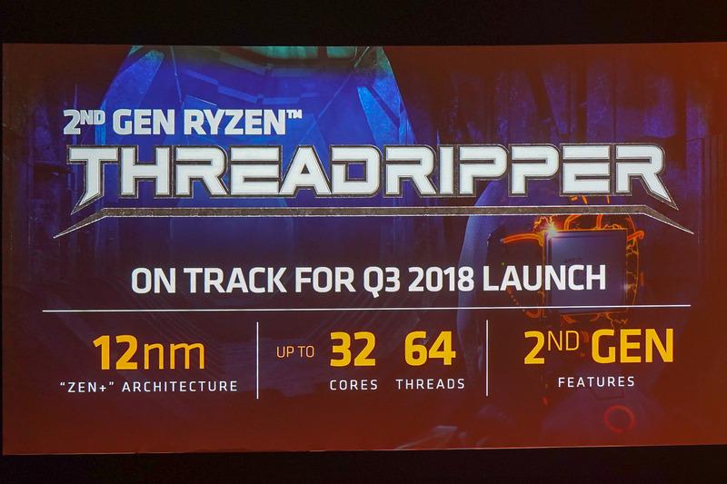 第2世代Ryzen Treadripperは32コア/64スレッド