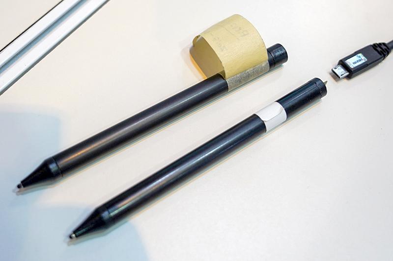 Intelが展示したUSI方式のペン