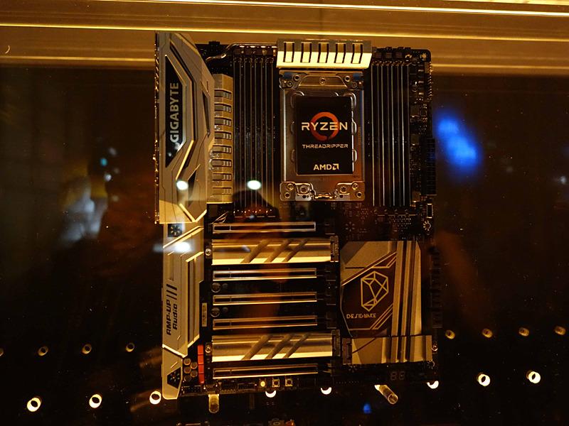X399マザーボードはRyzen Threadripper Gen2でも継続サポートする見込みだ