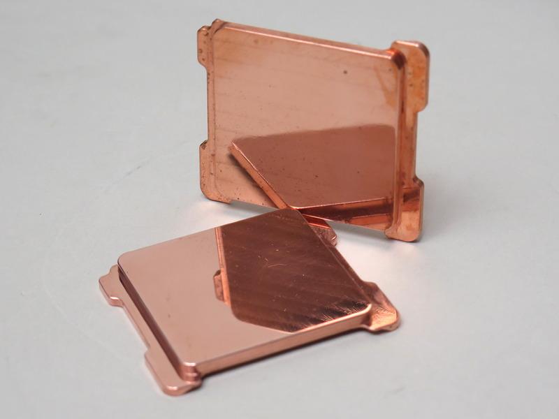 Copper IHS for LGA 2066(プロトタイプ)