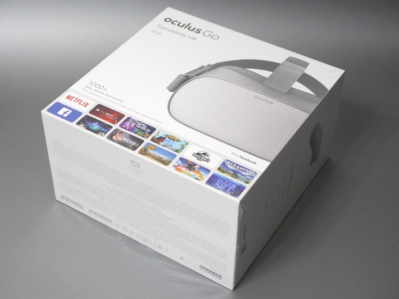 製品パッケージ。32GBが23,800円、64GBが29,800円の2ラインナップ