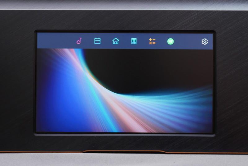 ScreenPadアプリは、ScreenPadモードで画面からスワイプして開くアイコンをタップして起動