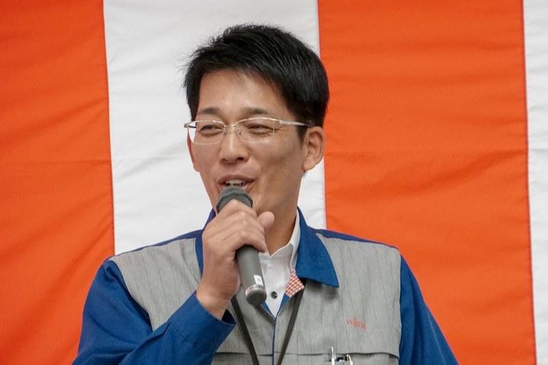 島根富士通代表取締役社長の神門明氏