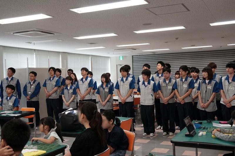 イベントをサポートする島根富士通スタッフ