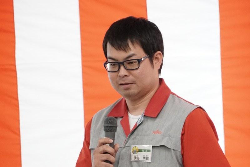 製造統括部リーダーの伊藤祐輔氏