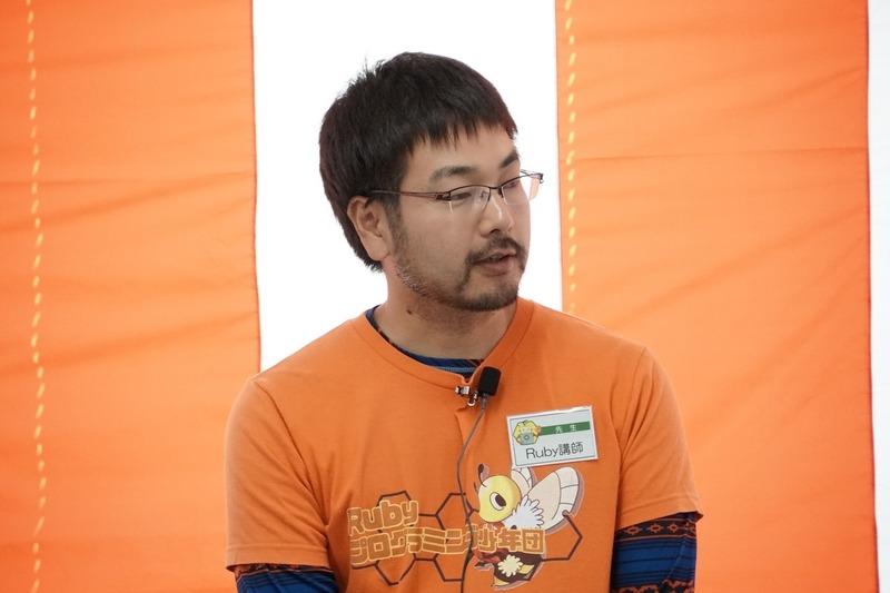 Smarlrubyを開発した高尾宏治氏が講師として登壇した