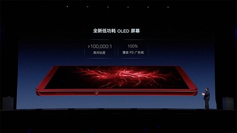 OLEDディスプレイに変更