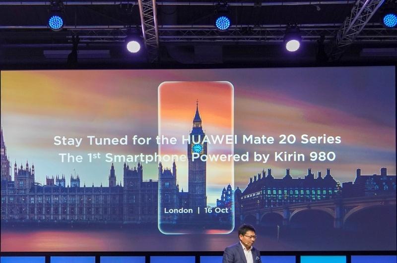 最初の製品は10月16日にロンドンで発表されるMate 10