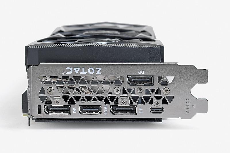 ZOTACから発売される、ZOTAC GAMING GeForce RTX 2080 AMP。基板はFounders Editionと共通だが、クーラーがオリジナル設計となる