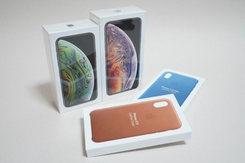 アップル「iPhone XS」、「iPhone XS Max」