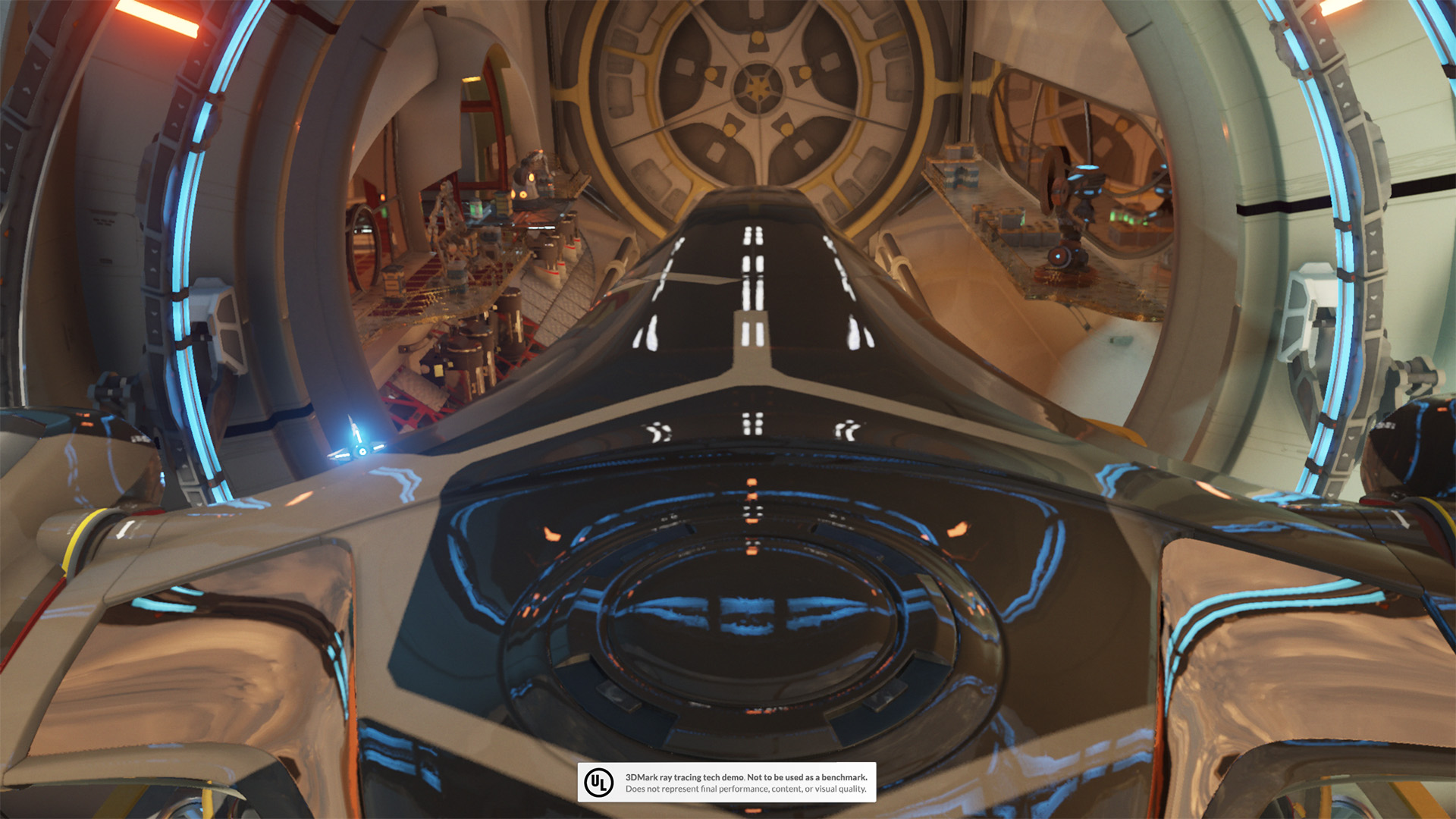 軽量版DirectX 12テストのNight Raid