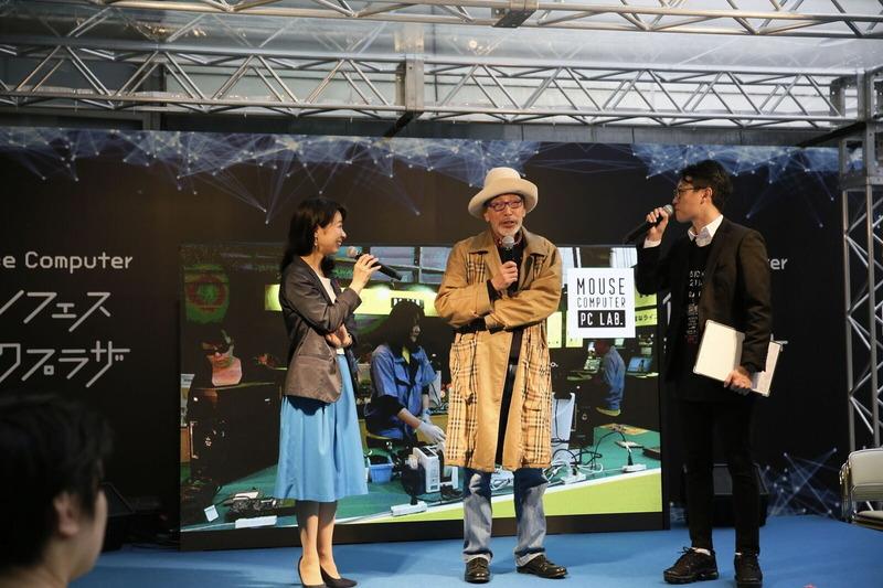 テリー伊藤氏と日本マイクロソフトの澤円氏によるトークショー