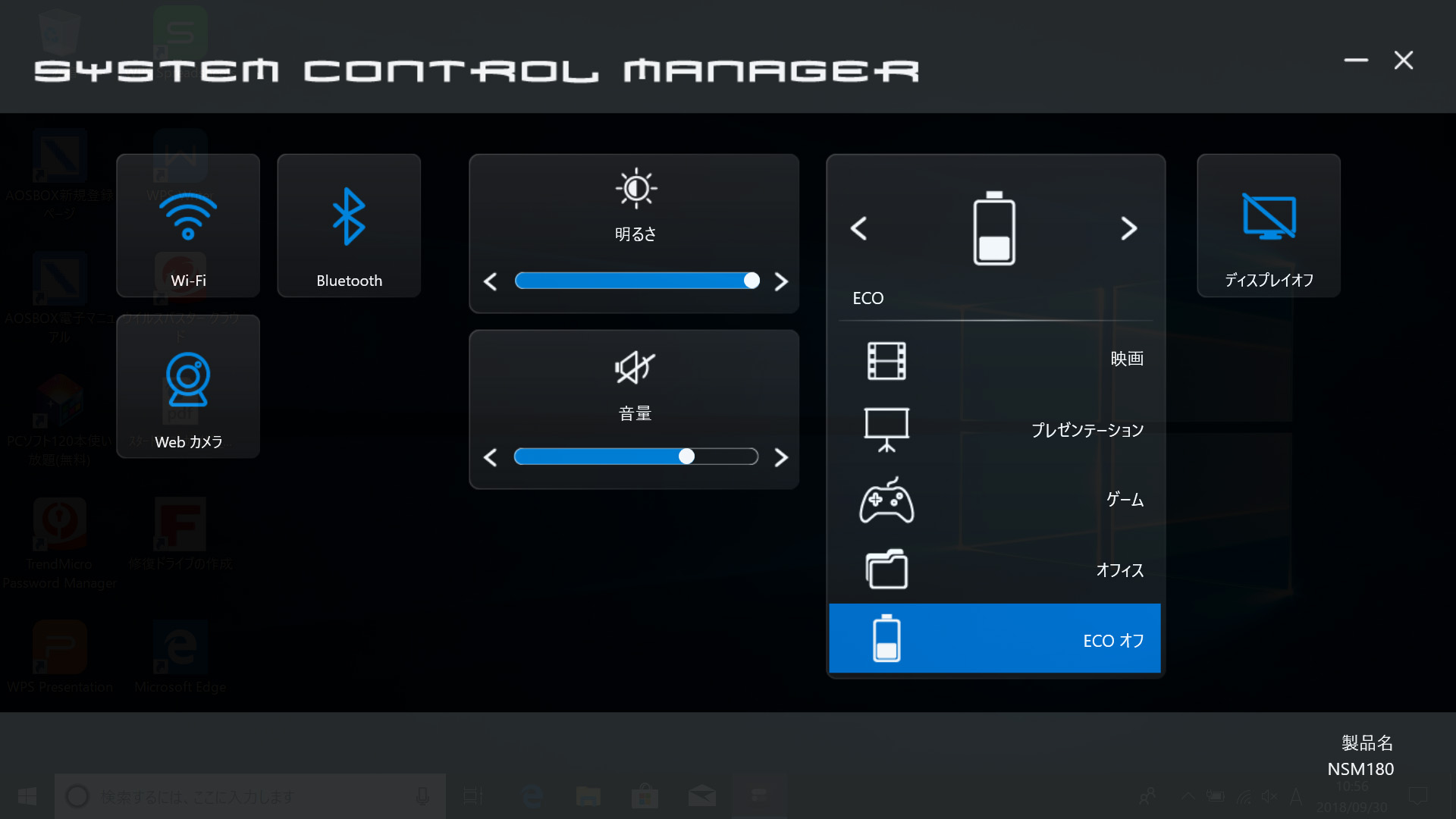 SYSTEM CONTROL MANAGER