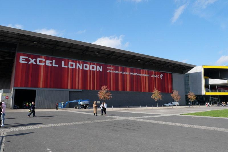 新製品発表会が開催された、ロンドンのExCel London