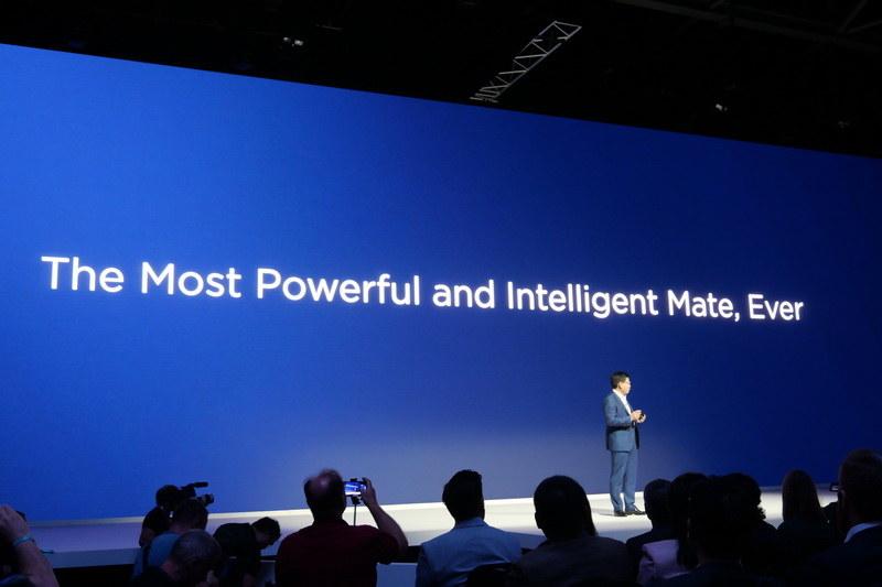 新製品は、過去のMateシリーズよりもパワフルでインテリジェントだと紹介