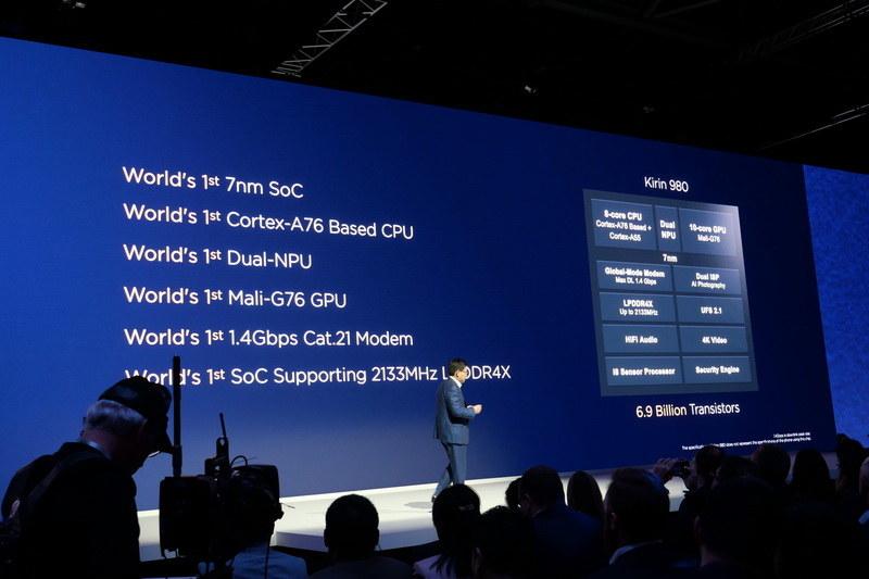 Mate 20シリーズは全モデルがSoCにKirin 980を採用する