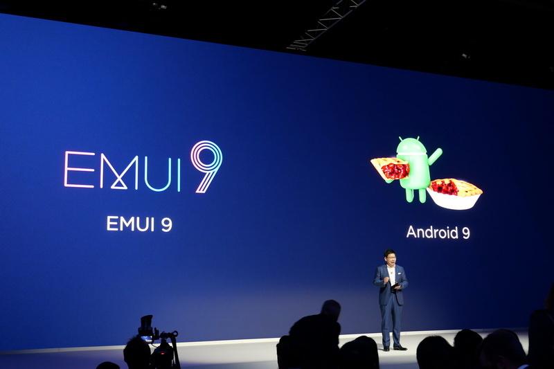 OSはAndroid 9ベースの「EMUI 9」を採用