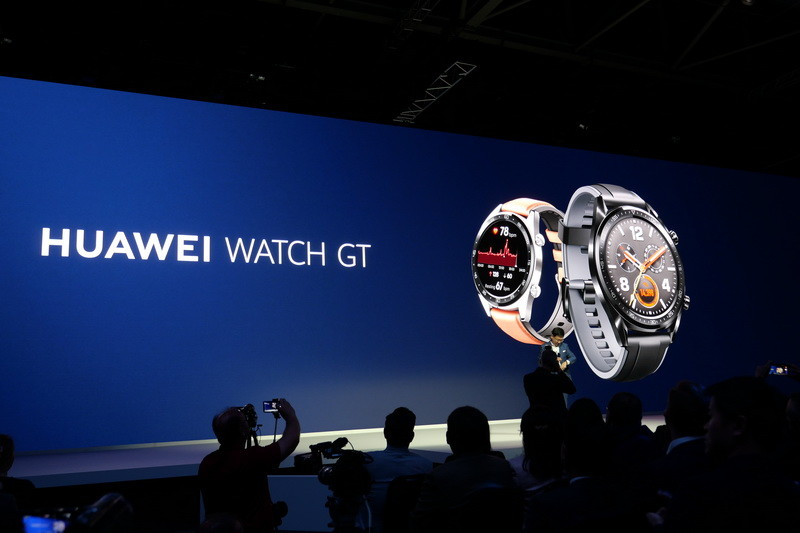 スマートウォッチ新モデル「Huawei Watch GT」