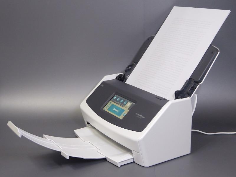 PFU「ScanSnap iX1500」。PFUダイレクト価格は税込51,840円