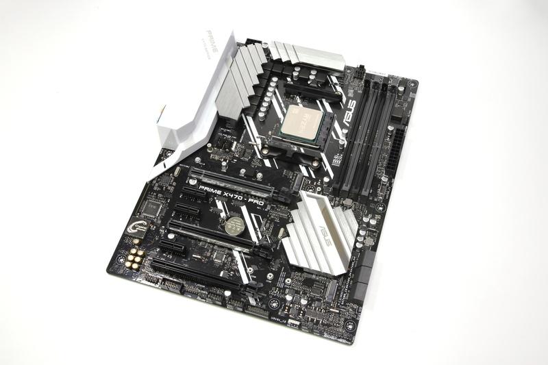 AMD X470チップセット搭載マザーボード「ASUS PRIME X470-PRO」