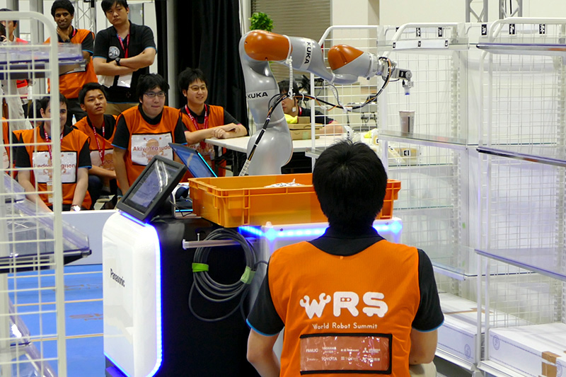 WRS「FCSC」に出場した「NAIST-RITS-Panasonic」