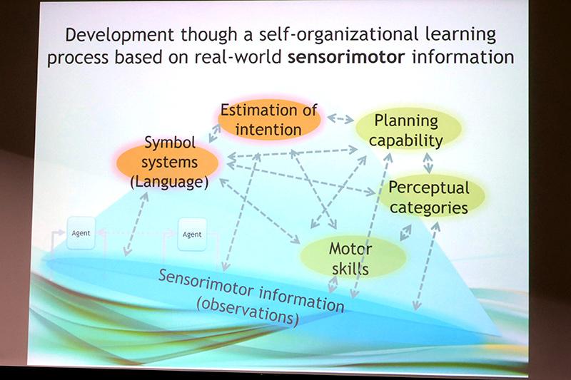 環境とインタラクションすることで得られる自分のセンサー-モーター情報を自己組織化してさまざまなスキルを獲得