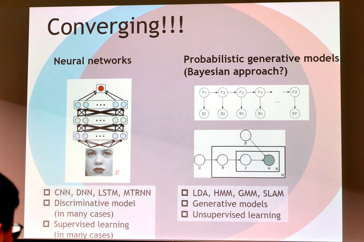 ニューラルネットワークと確率的生成モデルはコンバージしつつある