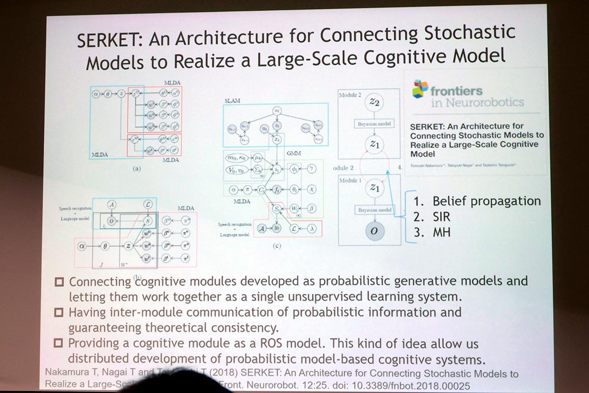 学習システム統合アーキテクチャ「SERKET」を提唱