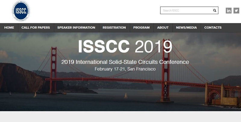 """ISSCC(International Solid-State Circuits Conference)の<a href=""""http://isscc.org/"""" class=""""n"""" target=""""_blank"""">公式Webサイト</a>で表示されるトップページ画像"""