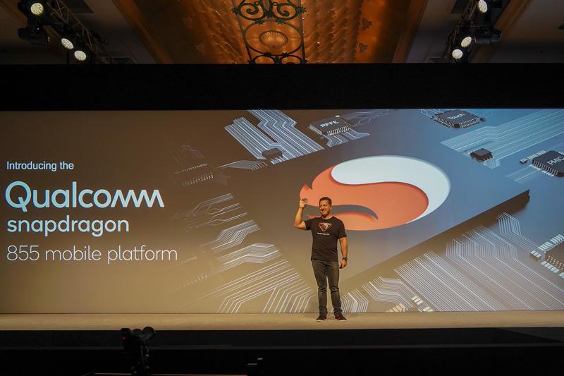 Snapdragon 855を発表
