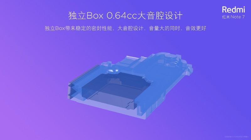 0.64ccのスピーカーボックス