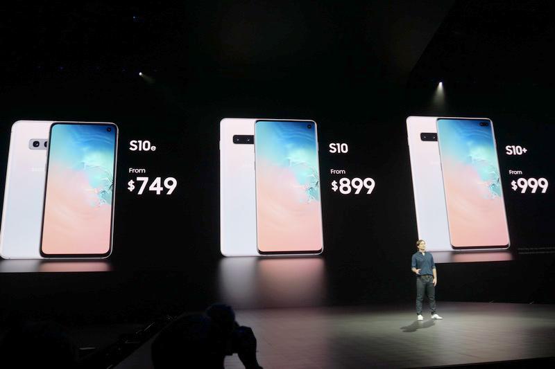 Galaxy S10 3モデルの北米価格
