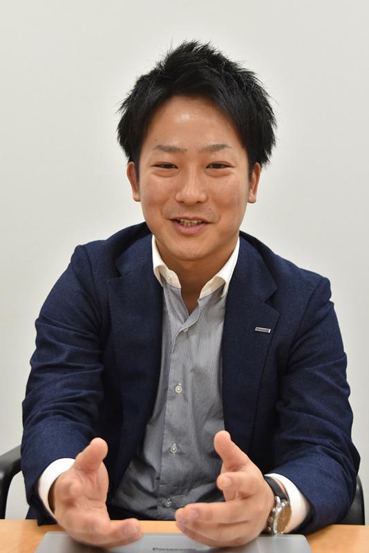 BIOSを担当した芦田優太氏(ソフト設計部ソフト設計1課)