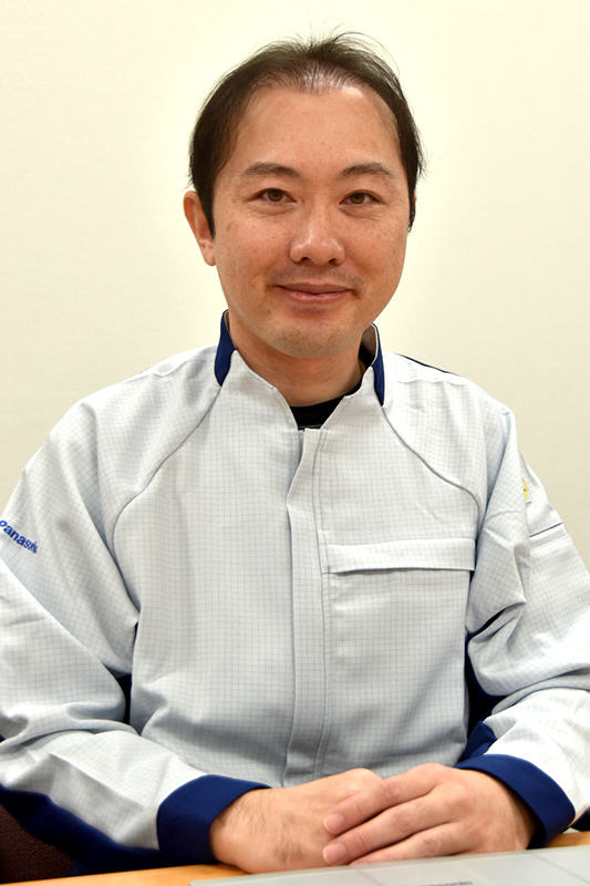 ハードウェア担当の山本竜矢氏(同ハード開発部ハード設計1課主任技師)